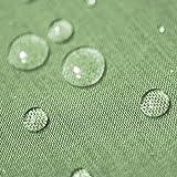 Gartentischdecke Lotus Effekt Eckig 90x90 cm Hellgrün Grün - Farbe & Größe wählbar mit Fleckschutz - (LE_E90x90HGrün)
