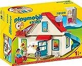 Playmobil 1.2.3 70129 Einfamilienhaus, Mit funktionsfähiger Klingel und Soundeffekt, Ab 18 Monaten