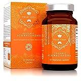 Ashwagandha BIO Kapseln   Zertifiziert Biologisch   Vegetarisch   100% Natürliches Kräuter Supplement   Bio wurzel extrakt   bekannt als Withania Somnifera   KSM-66   KSM66   Ayurveda   60 Pillen