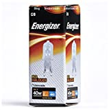Energizer 33w (= 40w) G9 ECO Halogen Stiftsockel Lampe Kapsellampe (s5409)