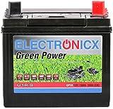 Electronicx U1R 30Ah 300A Green Power Batterie Rasentraktor Aufsitzrasenmäher Gartengeräte Motorrad Starterbatterie 12V