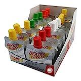 Dextro Energy Liquid Gel 18 x 60ml Mix-Pack | 3 Beutel von 6 Sorten | originalverschweißt | Energiegel, Ausdauergel