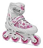 Roces Mädchen Inline-skates Compy 8.0, white/Violet, 30-33