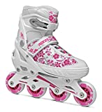 Roces Mädchen Inline-skates Compy 8.0, white/Violet, 34-37