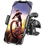 Handyhalterung Fahrrad, DesertWest Universal 360° Drehung Motorrad Handyhalterung für iPhone 12/12Pro/SE 2020/11/Samsung S20/S10/ Note10/HUAWEI Xiaomi LG usw. Handyhalter für Rennrad Mountainbike