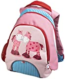 HABA 4054 - Rucksack Paulina, 33 cm großer Rucksack für Kinder mit ergonomischen Trägern und Netzfach für Flaschen