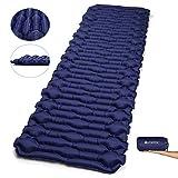 V VONTOX Camping Isomatte, Ultraleichte Aufblasbare Isomatte-7 cm Thickness (Groß), Aufblasbar, Klappbar und Kompakt, für Outdoor Camping, Trekking und Backpacking