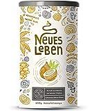 Neues Leben | Schwarzes Detox-Elixier | Formel mit Aktivkohle, Matcha, Aloe Vera, Chaga, Shiitake, Reishi | 600 Gramm