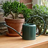 CKB LTD® Gießkanne, 1,4 l, verzinkter Stahl, für Zimmerpflanzen, modernes Design mit schmalem Auslauf und hohem Griff