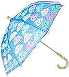 Hatley Mädchen Printed Umbrellas Regenschirm, Fröhlicher Wolken, One Size