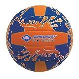 Schildkröt Funsports Neopren Mini-Beachvolleyball GR. 2 Ø 15cm, Kleiner Volleyball, 970274 Ball, orange/Blau, 2