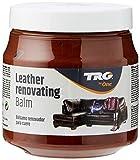 TRG Leder Renovieren Balsam - Passend für Leder Möbel, Jacken und taschen 300ml (Verschiedene Farben Erhältlich) - London Bräune,