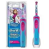 Oral-B Stages Power Kids Elektrische Zahnbürste, mit Figuren aus Die Eiskönigin– Völlig unverfroren