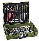 PROXXON 23660 Handwerker-Universal-Werkzeugkoffer, Grün