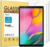 Apiker [3 Stück] Schutzfolie für Samsung Galaxy Tab A T510 / T515 [10,1 Zoll],Samsung Galaxy Tab A 10.1 2019 Panzerglas mit 9H Härte,Bläschenfrei,2.5D abgerundet Kante,einfach anzubringen