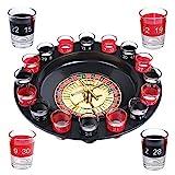 Schramm Trinkspiel Roulette inkl. Geschenkverpackung Party Spiel Saufspiel für Erwachsene