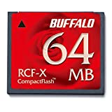 Buffalo rcf-x64my 0.0625 GB CompactFlash Speicher Flash – Memoiren Flash (0,0625 GB, CompactFlash, rot)