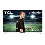 TCL 65AP710 164 cm (65 Zoll) LED Fernseher Smart TV (4K UHD, Micro dimming Pro, Android TV, HDR 10, Dolby Audio, Prime Video, Alexa und Google Assistant) Dark Silver [Modelljahr 2020]