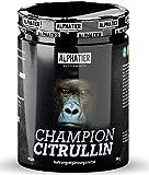 L-CITRULLIN Malat Pulver 500g - höchste Dosierung & Reinheit - ALPHATIER CHAMPION L-Citrulline Malate Powder DL 2:1 - Fitness und Bodybuilding - Premiumqualität - vegan