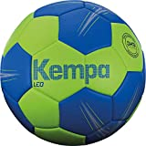 Kempa Unisex– Erwachsene LEO Handball, Ball, Grün/Blau, 2