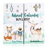 accentra Adventskalender Happy Holidays 2020 für Mädchen mit 24 Bade-, Körperpflege und Accessoires Produkten für eine abwechslungsreiche und verwöhnende Adventszeit
