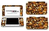 Skins4u Aufkleber Skin Folie Design Schutzfolie kompatibel mit Nintendo 3DS XL Desert Camo