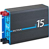 ECTIVE 1500W 12V zu 230V Sinus-Wechselrichter SI 15 Spannungswandler mit reiner Sinuswelle Power-Inverter in 7 Varianten