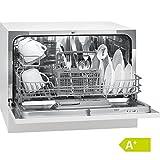 Bomann TSG 708 Tisch-Geschirrspüler (Energieklasse  A+, Platz für 6 Maßgedecke, 5 Programme) weiß