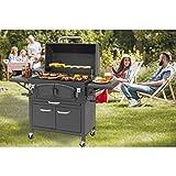 Holzkohlegrill Grand Ontario von EL Fuego® Grill BBQ Grillwagen Barbecue AY 572