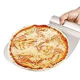 BelleStyle Edelstahl Pizza Peeler Kuchenheber, 31,5 x 26cm