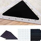 HIQE-FL 24 Stück Antirutschmatte für Teppich,Teppichgreifer,Teppich Ecken Anti Rutsch,Teppichgreifer Antirutschmatte