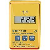 Greisinger GTH 1170 Präzisionsthermometer Schnellreaktion Temperaturmesser -65 bis +1150 °C