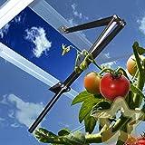 Glashaus Fenster Dach Lüftungsschlitz Öffner Automatisch Hitze Set Stark 15 kg Automatischer Fensteröffner für Gewächshaus, Fensterheber für Treibhaus, Gewächshausfensteröffner für Kippfenster Frühbeet