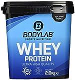 Bodylab24 Whey Protein 2kg   Eiweißpulver, Protein-Shake für Kraftsport & Fitness   Kann den Muskelaufbau unterstützen   Hochwertiges Protein-Pulver mit 80% Eiweiß   Aspartamfrei   Vanille