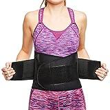 sit right Rückenbandage - Rücken-Gurt zur Stützung der Lendenwirbel für die perfekte Haltung - Rückenstütze für Damen und Herren – schwarz – Vers. Größen (XXL-XXXL)