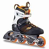 K2 Damen Inline Skates Alexis 80 - Schwarz-Weiß-Orange - EU: 40.5 (US: 9.5 - UK: 7) - 30A0104.1.1.095