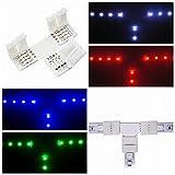 10pcs 4pin T Form LED Verbindungsstück Eckverbinder für 10mm RGB LED Streifen Lichter LED Band Lichter Adapter