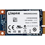 Kingston SMS200S3/240G interne SSD 240GB (6,4 cm (2,5 Zoll) mSATA) schwarz