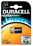 Duracell Batterie Lithium, Photo, CR123A, 3V, Ultra, OEM, Bulk (1-er Pack)