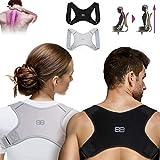 Back Bodyguard Haltungskorrektur - Innovativer Haltungstrainer für eine aufrechte Haltung - Rückengurt - Schultergurt - Posture corrector men S,M,L,Schwarz,L