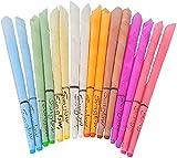 Ohrkerzen Sunglow® | Bunt gemischt in verschiedenen Farben | Konisch mit Sicherheitsfilter (8er Set)