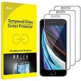 JETech Schutzfolie für Apple iPhone SE 2020 4,7 Zoll, Folie Panzerglas Displayschutzfolie, 3 Stück