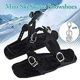 Mini Ski Skates Schneeschuhe Short Skiboard Snowblades Outdoor Sports Entertainment Supplies Skifahren Zubehör