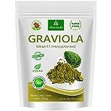 MoriVeda® - Graviola Pulver 360g Extrakt 4:1 hochkonzentriertes Fruchtpulver, Qualitätsprodukt – Sauersack (1x120g)