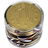 Melkchocolade Medailles 10 x 20g (Medaillen aus Vollmilchschokolade)
