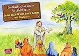 Jesus erzählt vom Reich Gottes. Vier Gleichnisse: Vom Sämann. Von der selbstwachsenden Saat. Vom Senfkorn. Vom Sauerteig. - Bildkarten für unser ... (Bibelgeschichten für unser Erzähltheater)