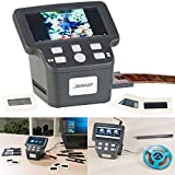 Somikon Negativscanner: Stand-Alone-Dia-, Negativ- & Super-8-Scanner, 12,5-cm-Farbdisplay (5') (Super 8 digitalisieren)