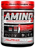 3L- Aminosäuren Komplex hochdosiert, 18 natürliche hochkonzentrierte & bioaktive Amino Tabletten mit BCAA ohne Kapsel -Gelatine, 1000 Tabletten Aktionsgroßpackung ALPHAPOWER FOOD