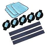 HomeDecTime 1 Set Ersatz Reinigungstücher Staubtücher Bodenwischer Staubtücher für 320 380 381 380T 390 390T 4200 4205 5200 5200C