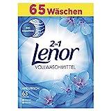 Lenor Vollwaschmittel Pulver Aprilfrisch, 4kg, 1er Pack (1 x 65 Waschladungen)